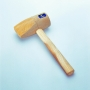 Wedge shaped mallet (round)